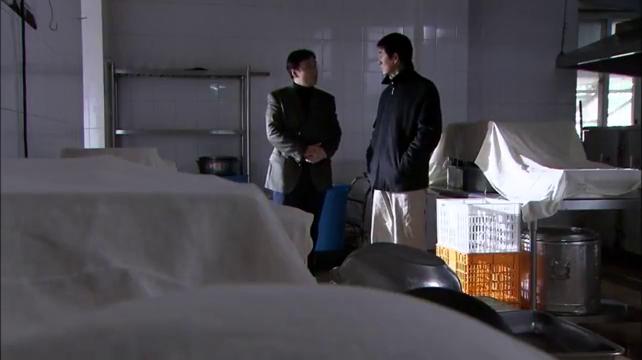 办公室内张一白和钟达鸣被刘世芳叫来,询问为什么叫作文