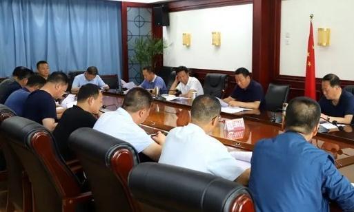 清水县召开城市规划区违法建筑拆除工作推进会