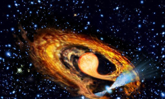 中国天眼:毫秒级脉冲星正吞噬伴星物质,它将揭示一个未解之谜!