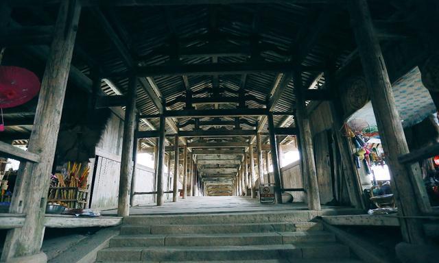 走近中国廊桥之乡,感受浙南的惬意,纯木头令人惊艳的艺术品