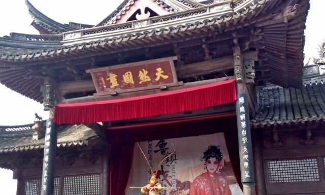 浙江虚构的仿古建筑,耗资上亿只为一人,是何方神圣呢?