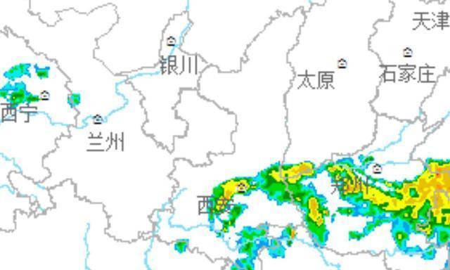 陕西确认!陕西突发大面积降雨!暴雨卷土重来,大雨分布如下