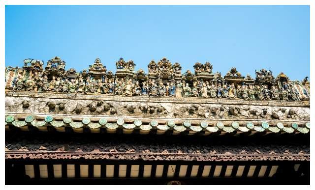 广西颜值最高的会馆,形似陈家祠,屋顶镶满艺术作品