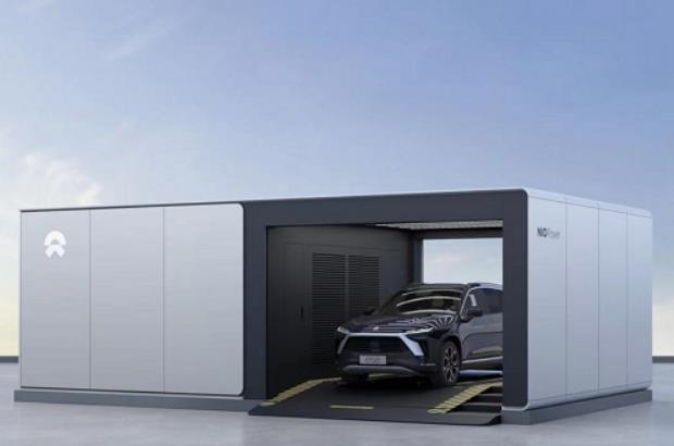 蔚来汽车发布第二代换电站 真正的未来已经来了