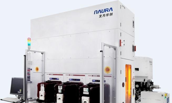 北方华创正式推出NMC612G12英寸金属刻蚀机