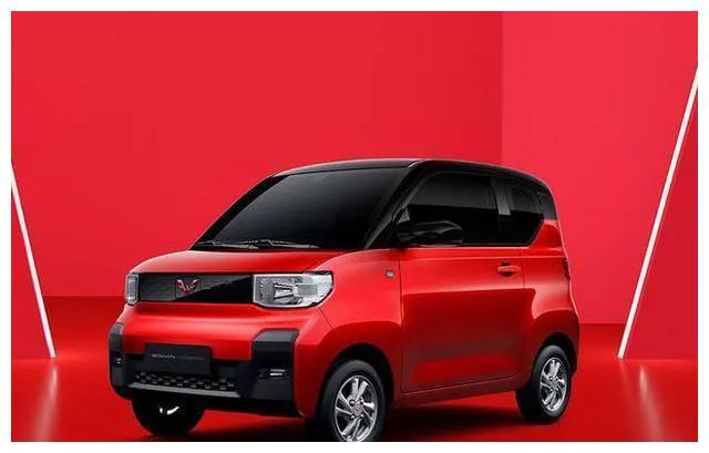 老款月销3.2万辆,五菱宏光MINIEV新款实车,又要火?
