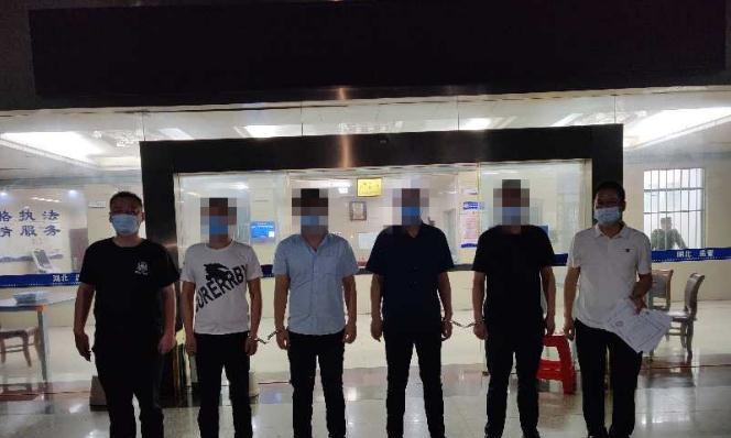伪造劳务合同实施诈骗 鄂州警方抓获4人