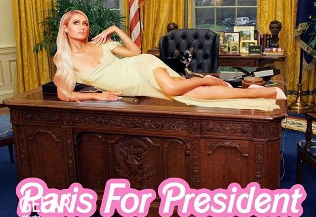 继侃爷之后,名媛帕丽斯·希尔顿也宣布竞选总统!