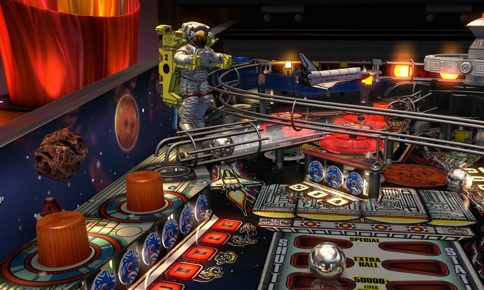 《三维弹球FX3》即将推出第六集威廉姆斯球台包