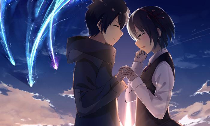 《你的名字》,穿越时光只为与你相遇,请不要忘记我一直爱着你