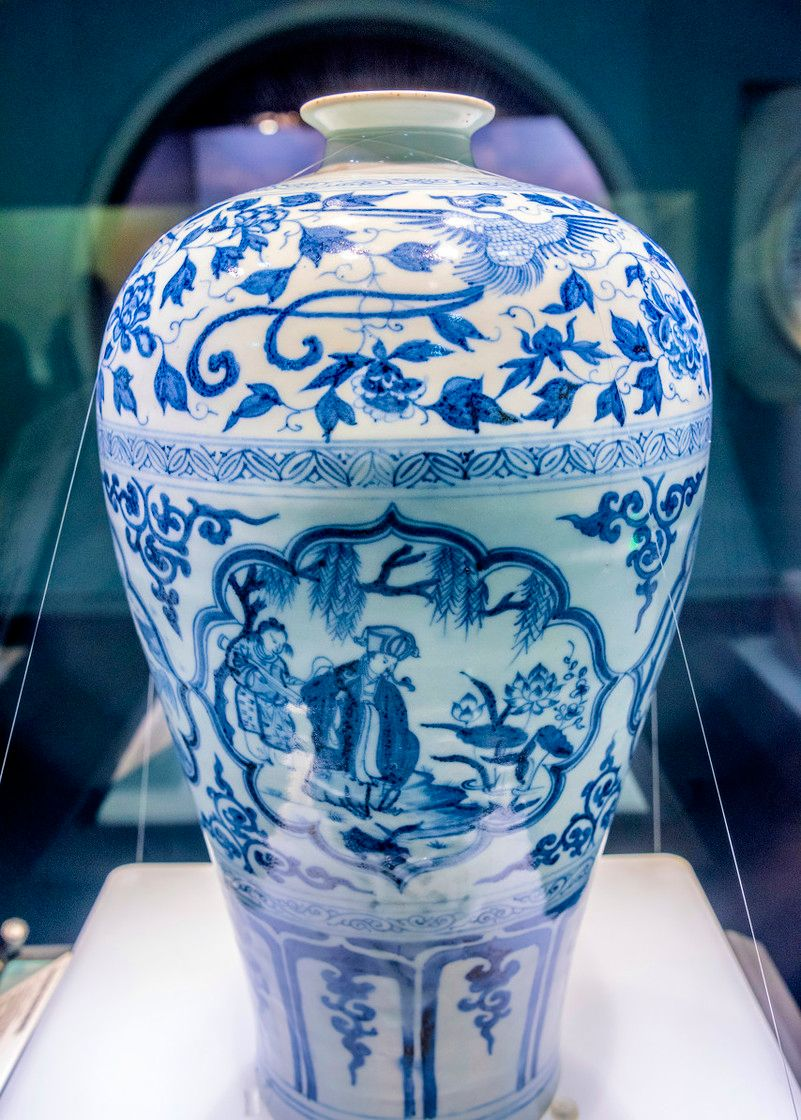 瓷中之王:元代梅瓶不是只有元青花,这些品种都很珍罕,你知道吗