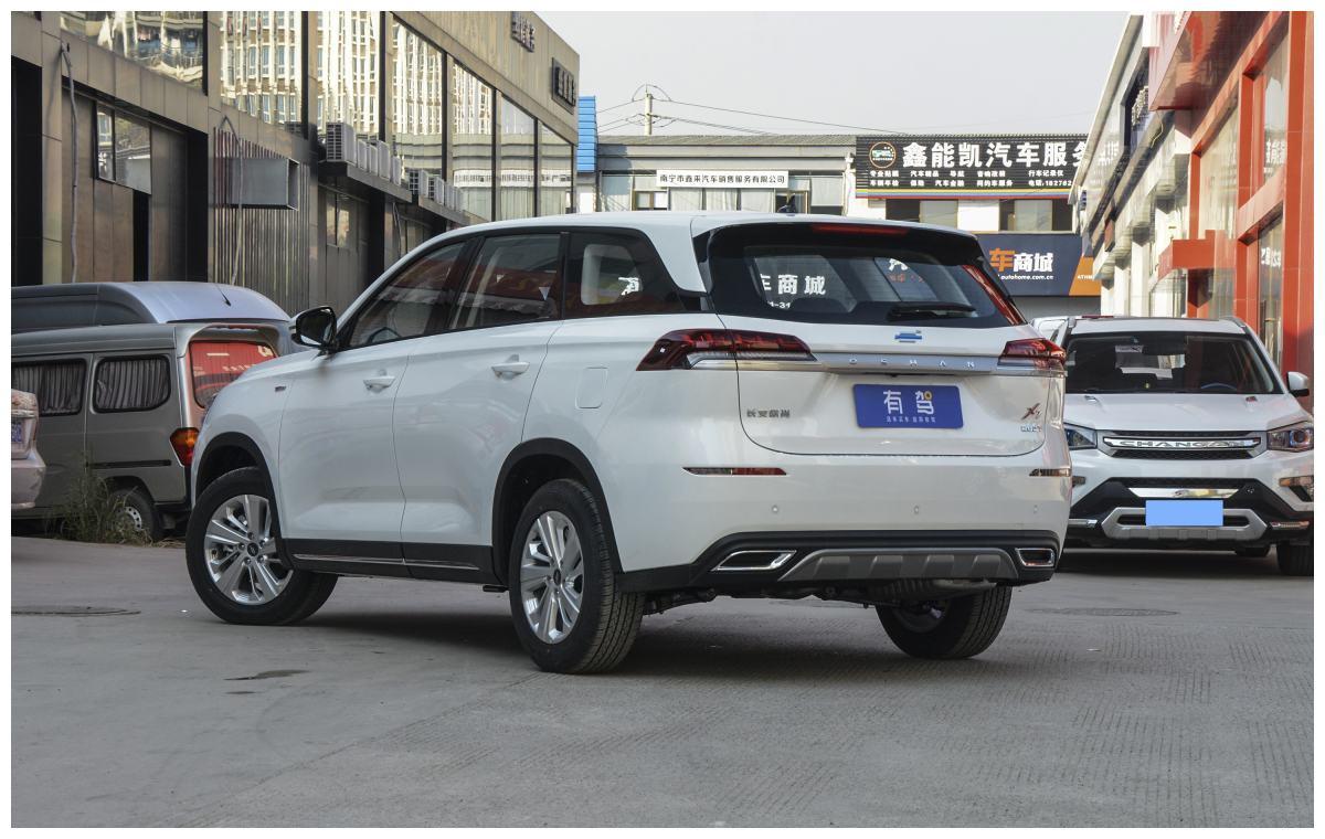 好消息:2021款欧尚X7新车上市!