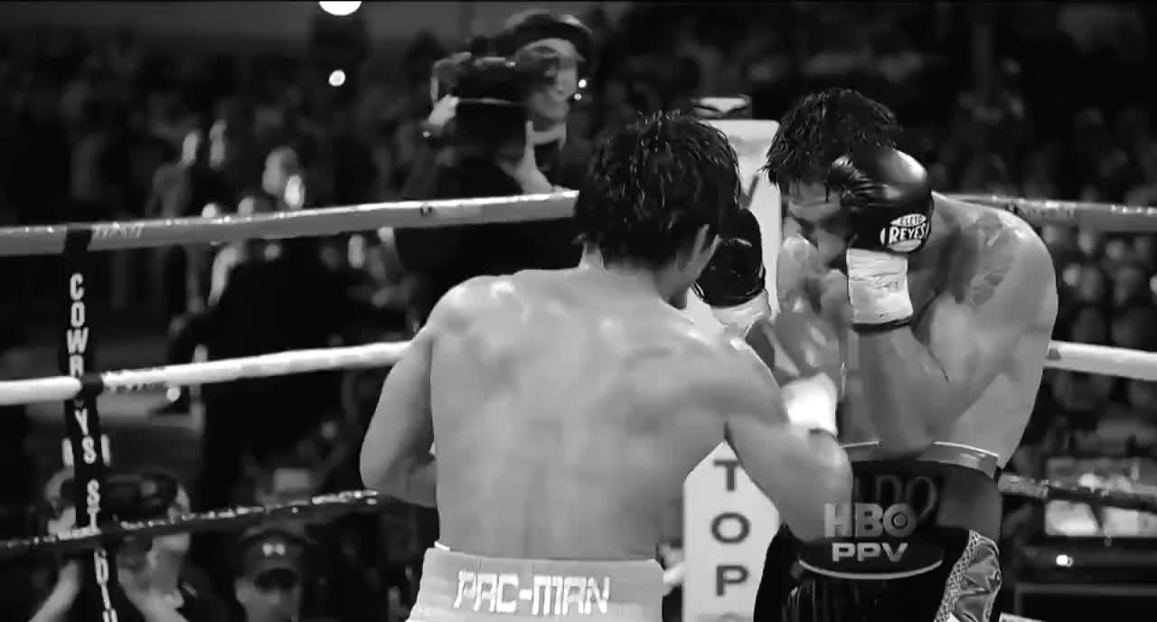 拳坛硬汉马加里托被打毁容,挑战帕奎奥是他最后悔的决定