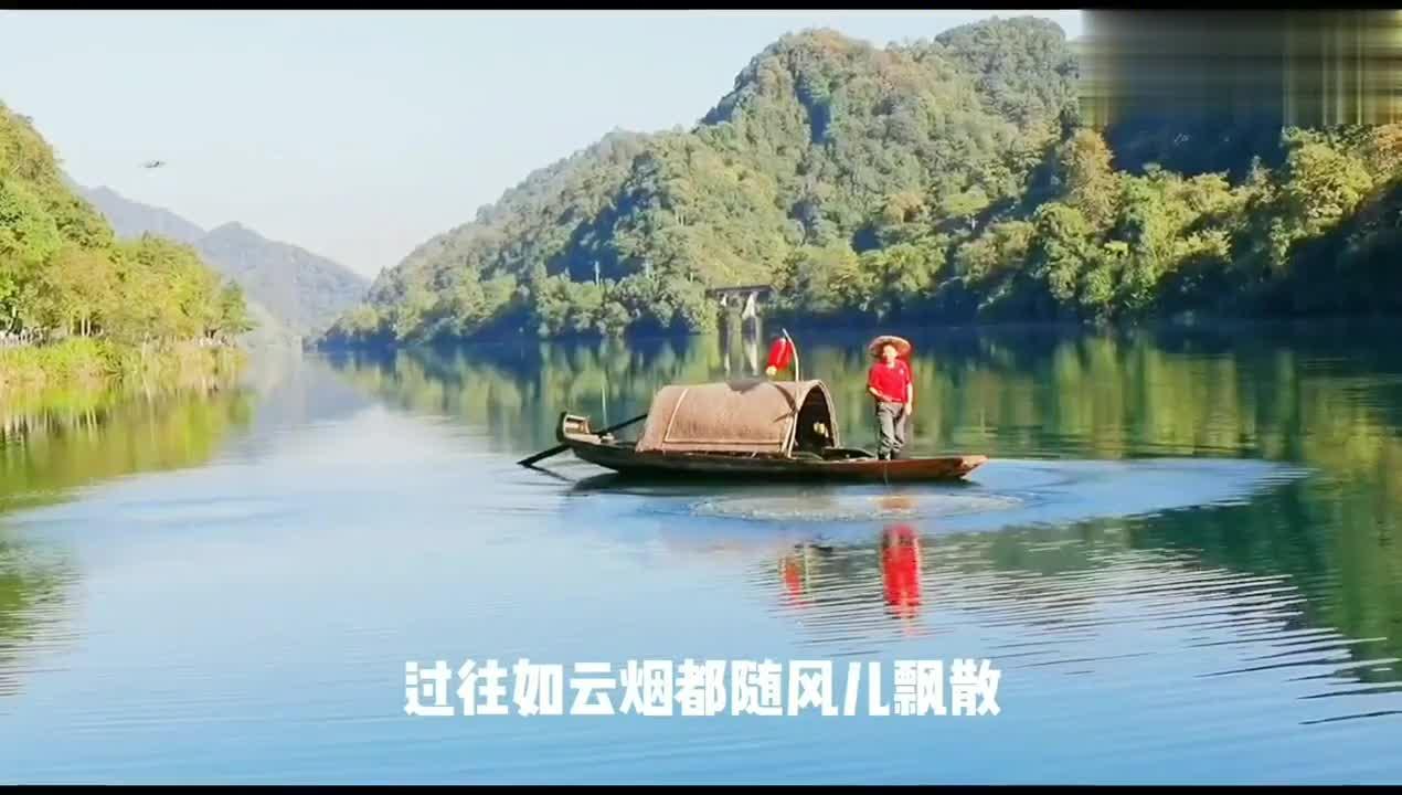 国家湿地公园美丽的郴州东江湖,中南地区最大人工湖