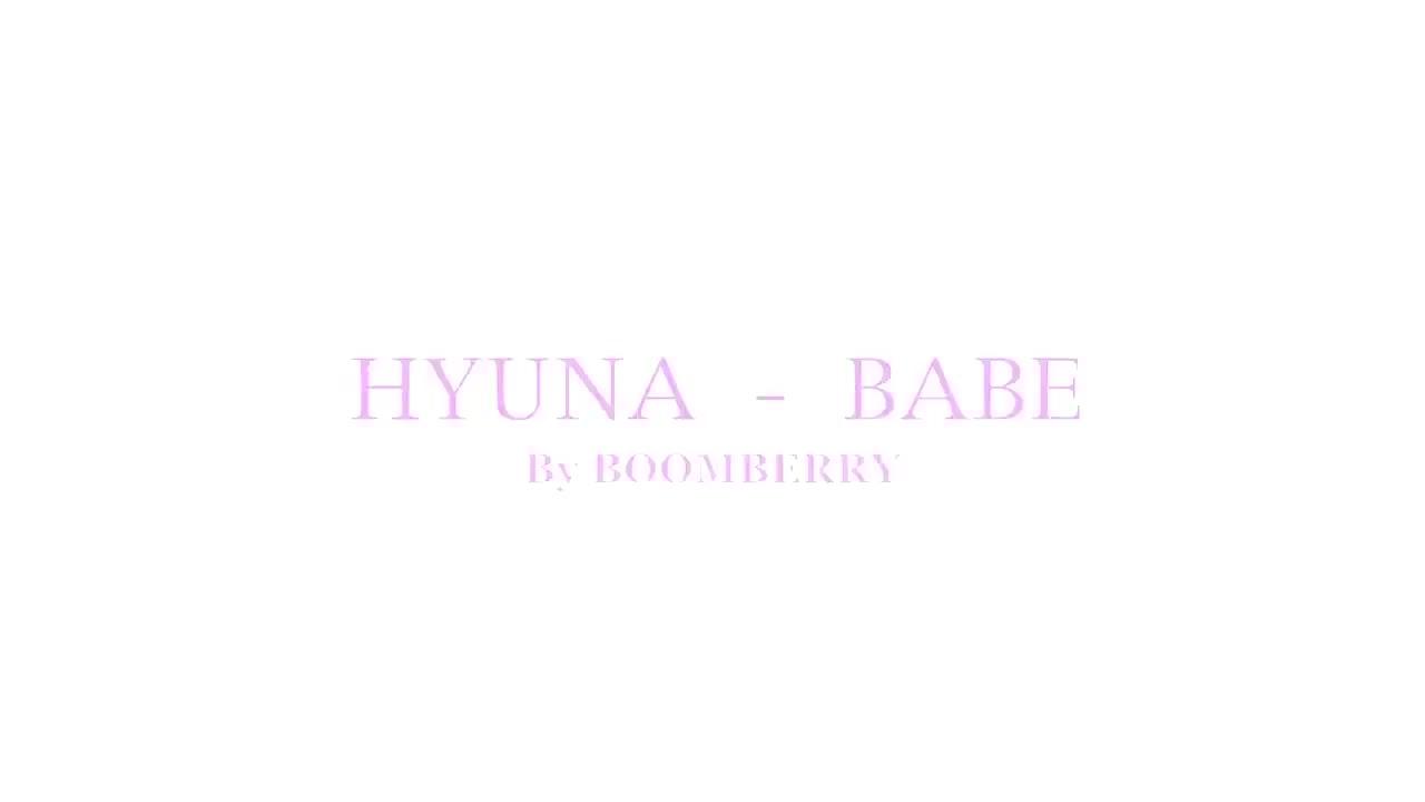 俄罗斯颜值美女ANNA性感翻跳HyunA新歌BA.