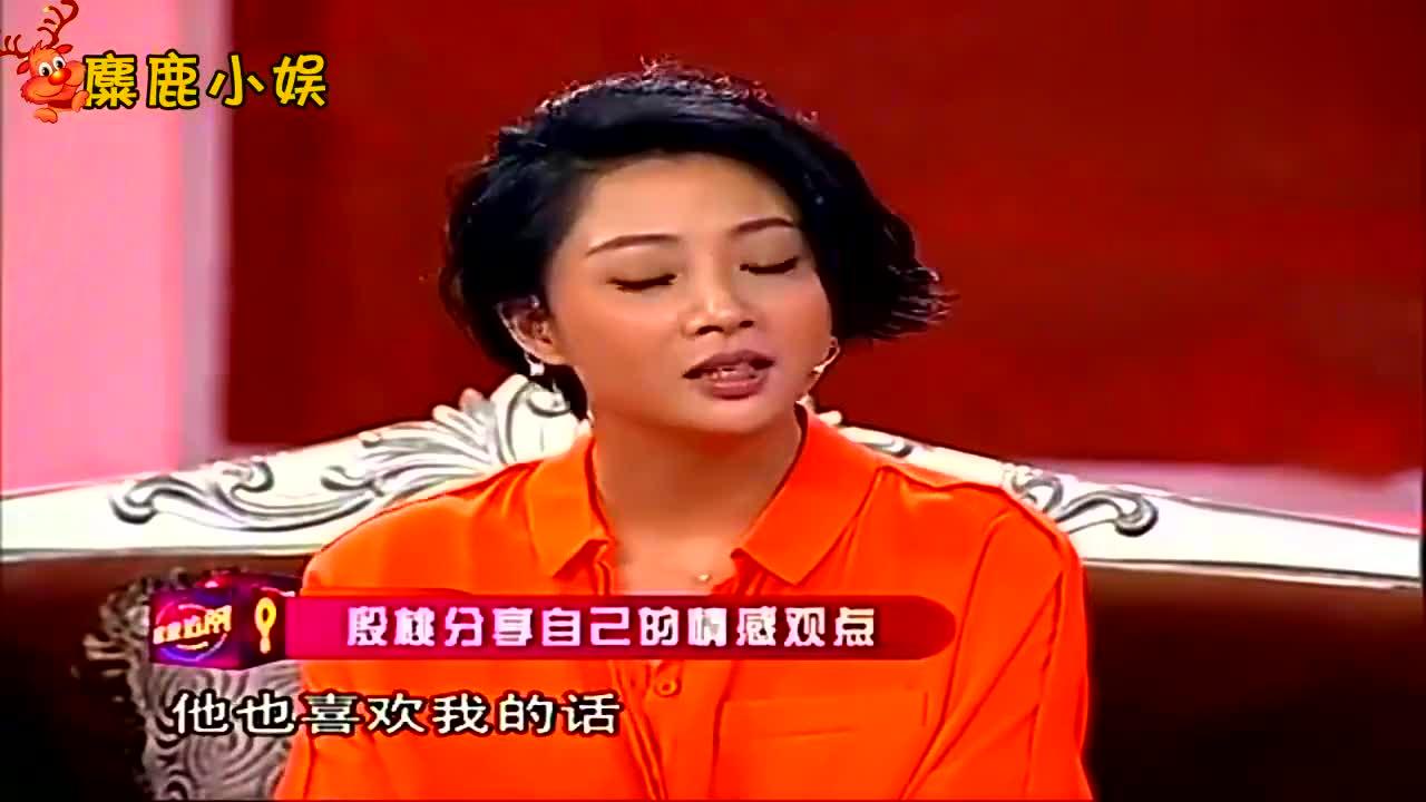 殷桃专访合集,现场被问为何单身到现在,她的回答好有情商