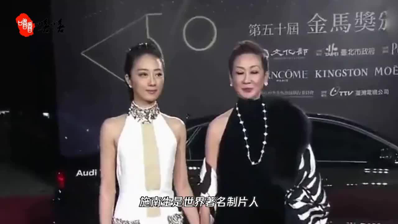 她是徐克爱了30多年的女人,张国荣的阿姐林青霞的闺蜜