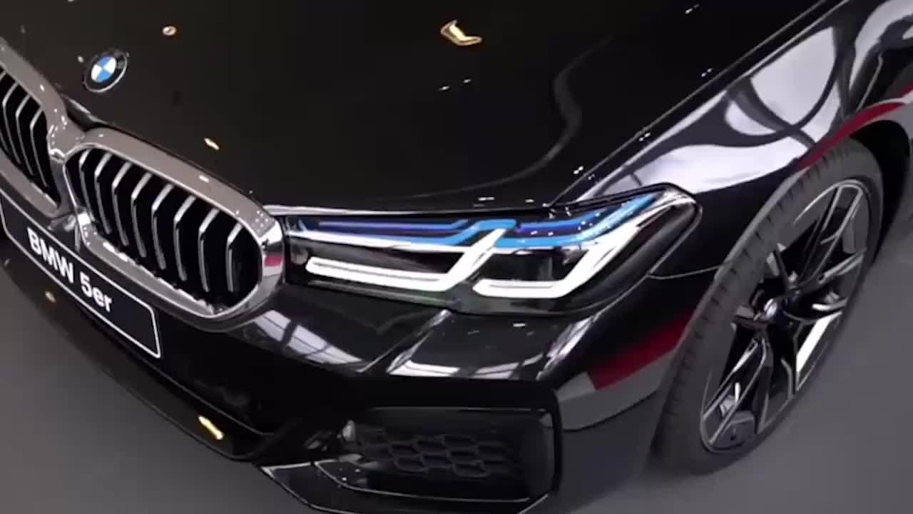 视频:2021款全新宝马5系530i到店实拍,声浪响起那刻,买不A6L自己定