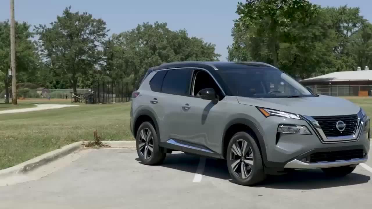 视频:2021款日产奇骏实车展示,比上一代好看太多,近距离了解后心动了