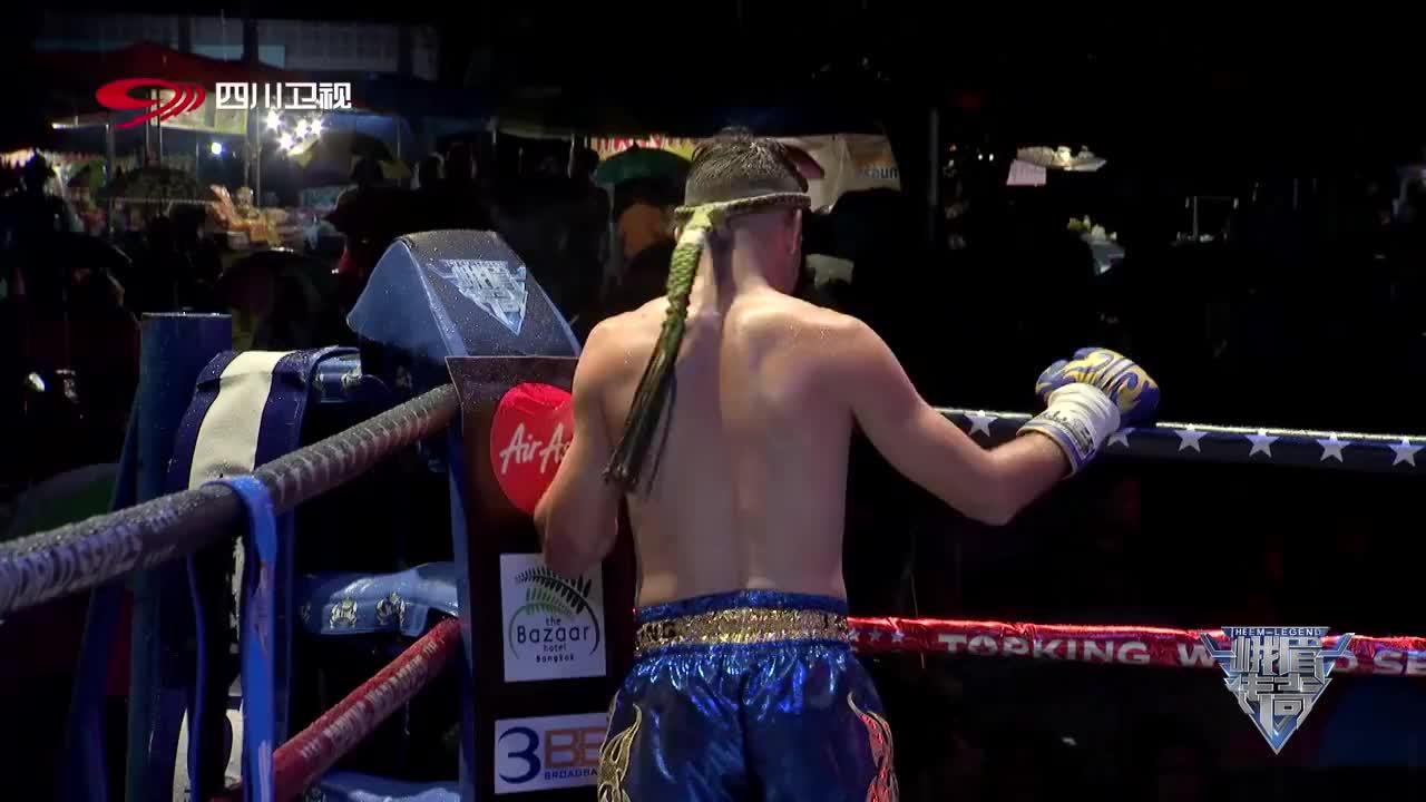 泰拳王手握3条金腰带嚣张得不行,中国男子看不惯,上去就是一拳
