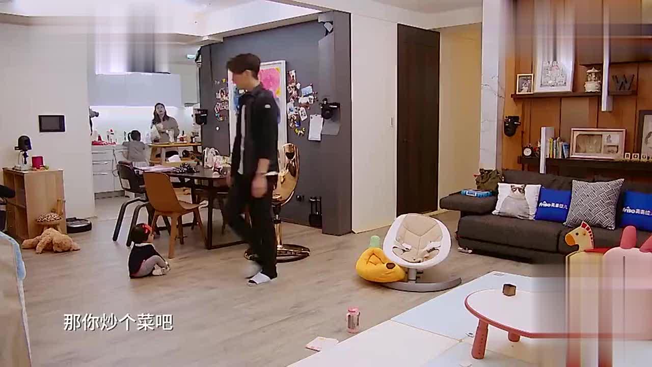 贾静雯厨房煮水饺,网友:哇塞!你家的水龙头好洋气