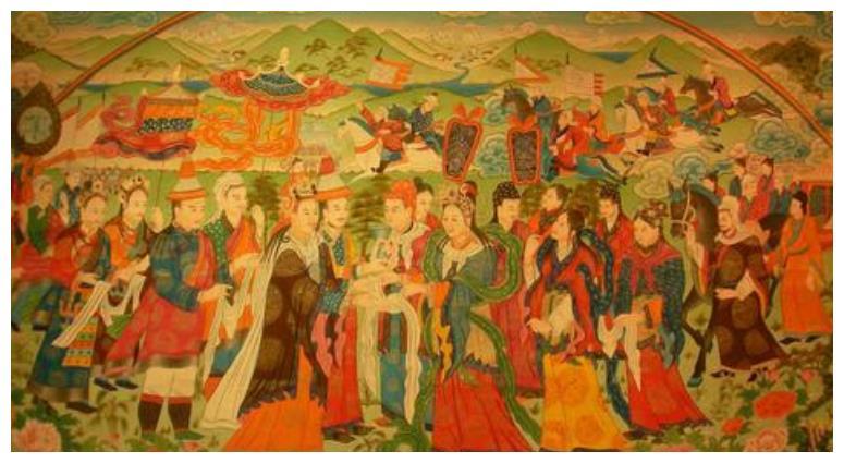 大唐文成公主入藏和亲之后的地位尊贵?真实的际遇令人心寒