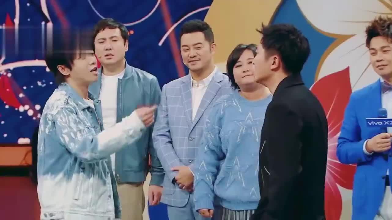 华晨宇助力男嘉宾PK唱高音,耿直的揭穿其音调,贾玲沈腾神补刀