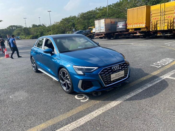 2020广州车展探馆:全新国产奥迪A3/A3L实车