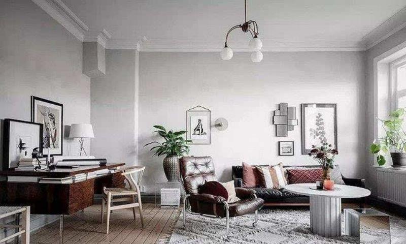 一居室的北欧风怎么装修?让这套53平米的装修案例给你点灵感
