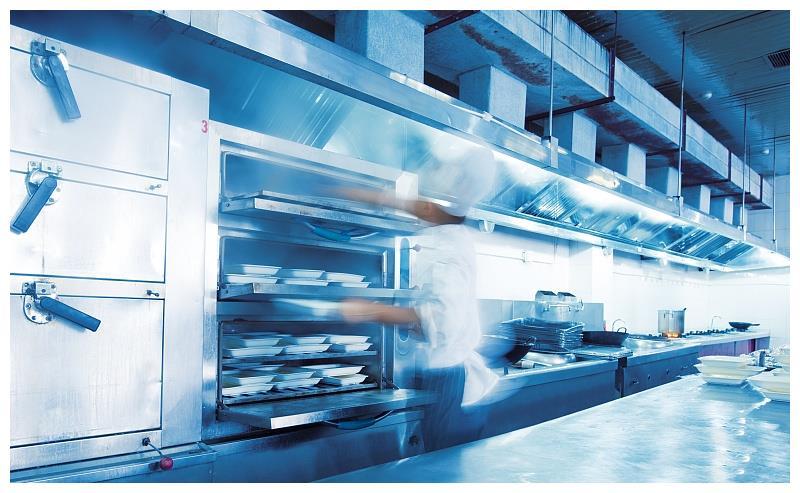 商用厨房设备安装细节