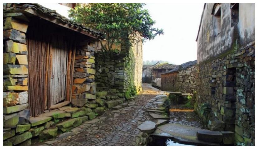 浙江小众古村好去处,用石头堆砌的村落,每一块都留下时光脚印