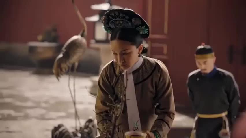 如懿传:如懿跟皇上多年未见,却问他知不知道这句话,意味深长!