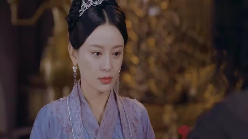 夏侯给皇后带了一枝腊梅,还用元气护着,真是太贴心了