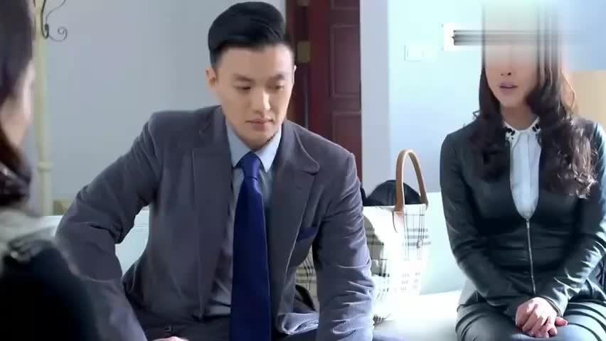 男律师找到老总情人,想让她交出协议,哪料她闭口不谈这件事
