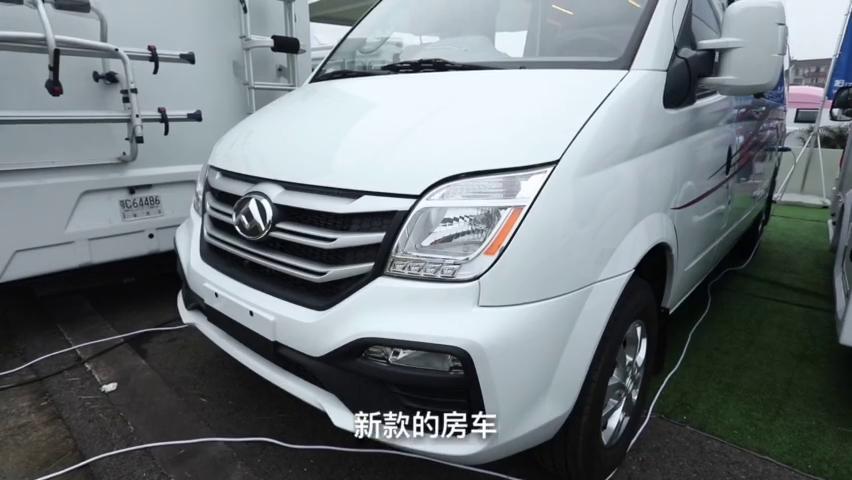 视频:老张定制版的大通V80房车,最新国六上市,2.0T柴油发动机