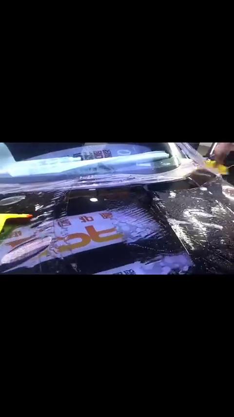 视频:本田雅阁十代隐形车衣