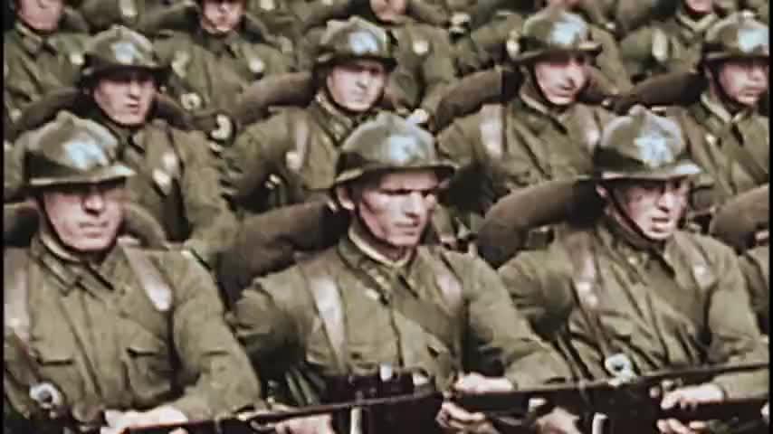二战真实战斗影像,德军空军全面出动,苏联20000辆坦克也亮相了