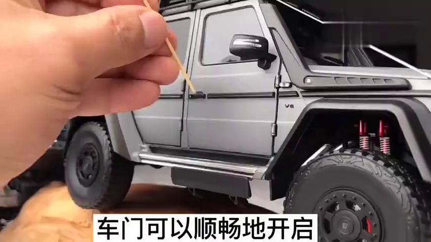 越野硬汉-巴博斯550探险版汽车模型(下集)开箱