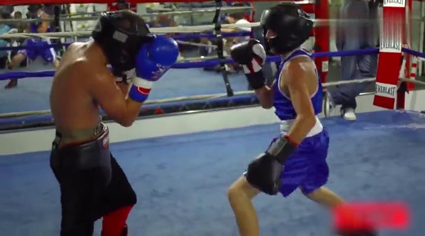 13岁神童,要做第一个拳击和综合格斗双料拳王