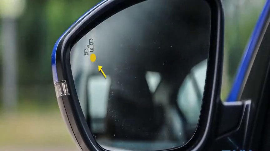 视频:2019款东风标致408盲点监测系统展示,长见识