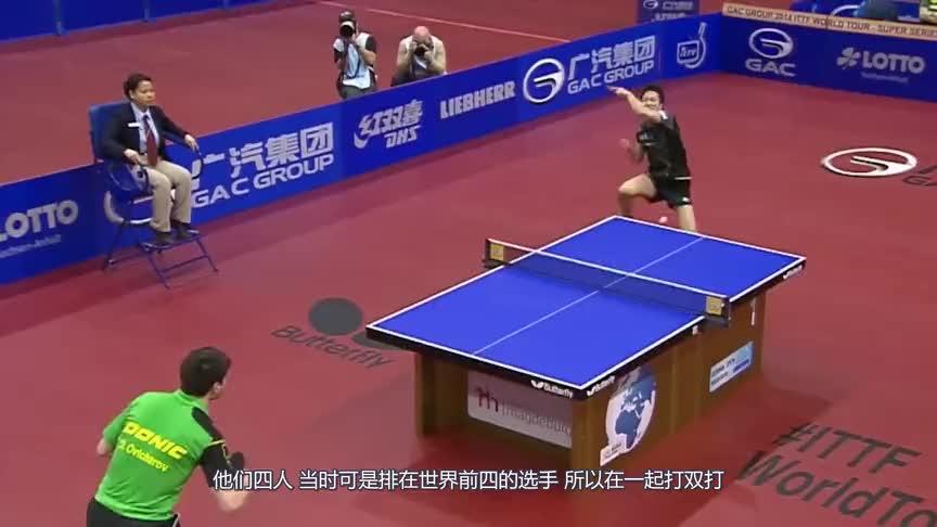 樊振东可以成功接棒马龙吗?国乒最强4人恐怖双打,战局太激烈