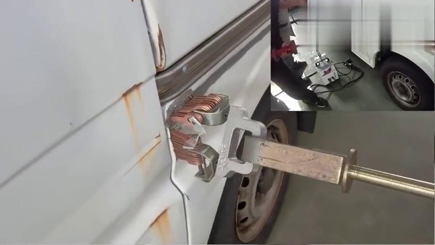 日本的二手车贩修车技师真有一手,简单处理下就好了