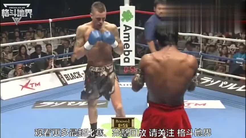 泰拳王子播求还打过他!曾经的踢拳之王遇上播求,直接被打服!