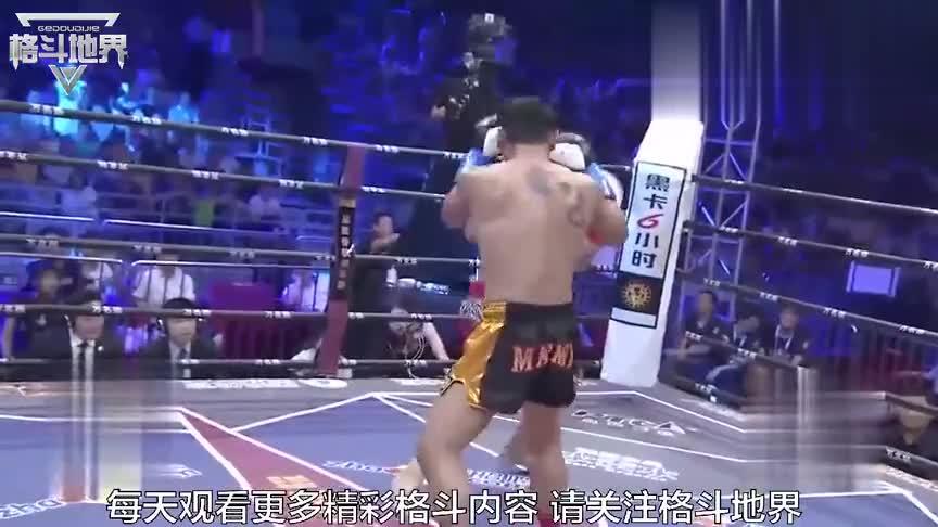 泰拳狼王杀玉狼来华,中国散打高手复出迎战!火力全开对拼!