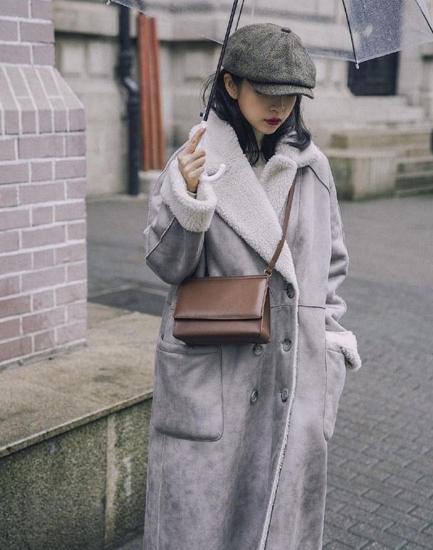 如何用最简单的方法将过冬大衣穿出高级感?三木用4组造型告诉你