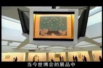 绣娘兰馨:世博会有一副恢宏的瑞鹤图,记录着绣娘兰馨的传奇人生