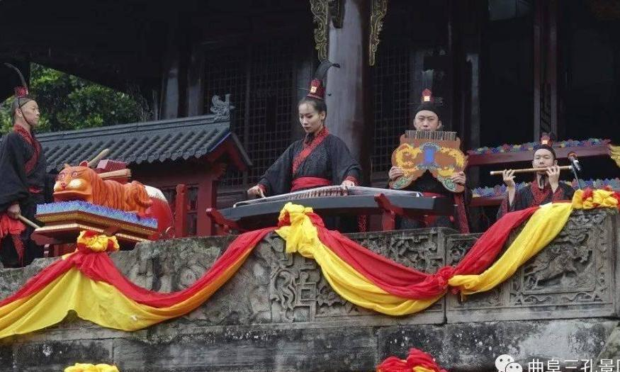 【梦回千年】曲阜三孔景区杏坛雅乐团受邀演绎萧韶古乐
