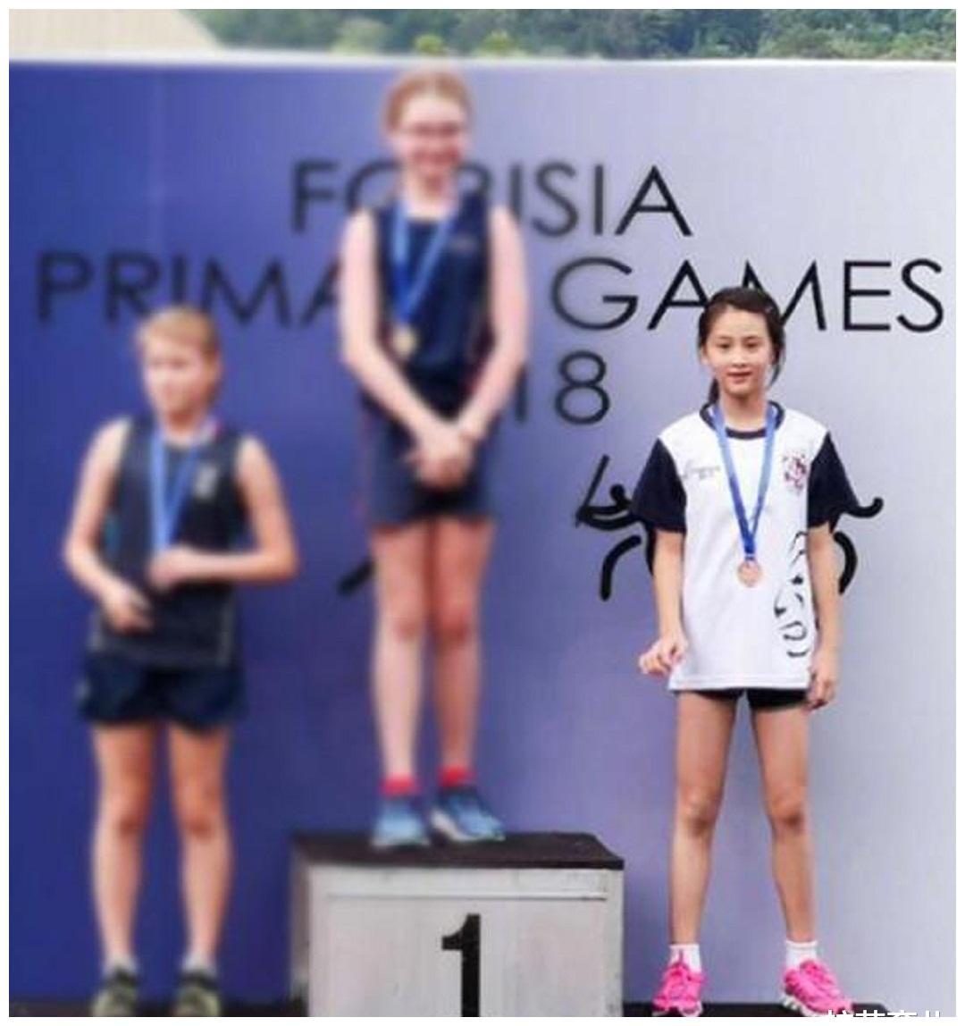 森碟获得世界比赛铜牌,不仅遗传田亮运动基因,更是拥有运动精神