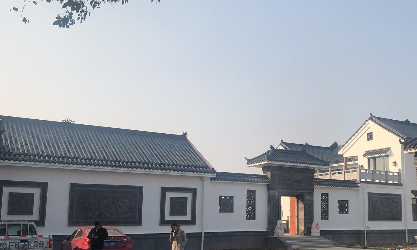 建房也要标新立异,中式小合院风格,砖雕元素永不过时