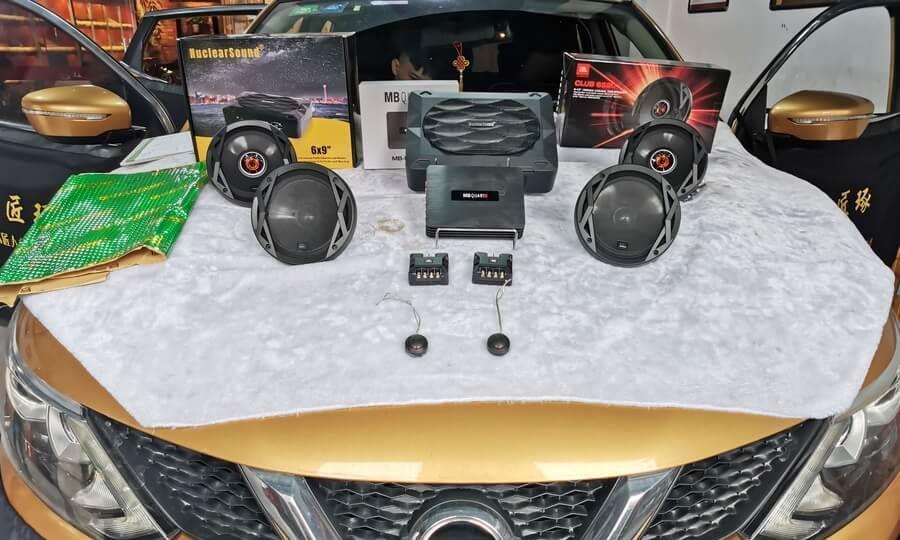 日产逍客怎么隔音降噪?逍客改装JBL音响隔盾四门隔音改装案例